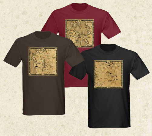 Lord of the Ring stlye T Shirts